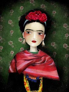 :) Frida by Anne Julie Aubry