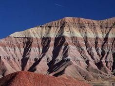Painted Desert is a Photo Op in AZ. Plan your road trip to Painted Desert in AZ with Roadtrippers. Nevada, New Mexico, Petrified Forest National Park, Trip To Grand Canyon, Flagstaff Arizona, Arizona Usa, Desert Mountains, Appalachian Mountains, Snowy Mountains