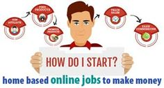 how to start home based online jobs