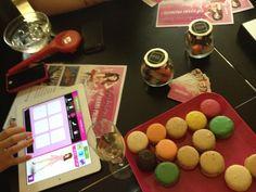 A fashion game and some yummy macarons!  http://www.cadranhotel.com/