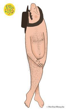 O Zé vai nu! ilustração para o concurso Sardinhas Festas de Lisboa '14