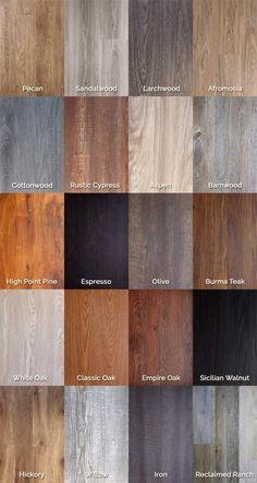 Our luxury vinyl flooring planks include: commercial click flooring systems, interlocking vinyl click flooring, floating floor click system, vinyl plank flooring and interlocking wood-grain vinyl planks.
