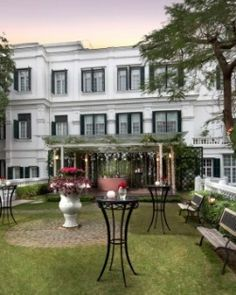 With a grand Colonial exterior, the Sofitel Legend Metropole Hanoi warmly welcomes guests. #Jetsetter