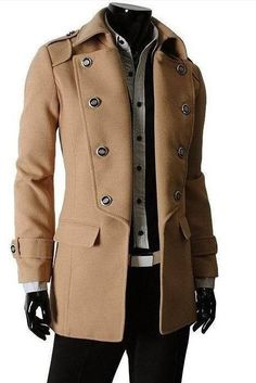 Our modern coat for men is unique, thick, and makes up for a nice wear for the winters. unique-outfit.com