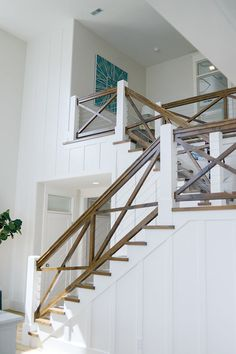 26 Ultimate Farmhouse Staircase Decor Ideas And Design – Home Renovation Staircase Railings, Staircase Design, Stairways, Banisters, Entry Stairs, Spiral Staircases, Stair Case Railing Ideas, Stairway Railing Ideas, Stair Design