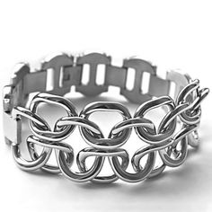 Ocelový náramek - Massive Elegant (5155) Odkaz na WEBSHOP: http://www.ocelovesperky4u.cz/ocelove-naramky/ocelovy-naramek-sbr5155-massive-elegant-316l