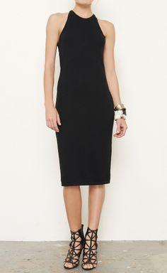 Bill Blass Black Dress