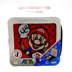 Nintendo 2ds super mario Case Brand New Sealed holds console & 6 game cartridges Nintendo 2ds, Card Games, Game Cards, Super Mario, Console, Pokemon, Computers, Amp, Ebay