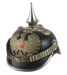 German Hannover Police official spike helmet : Lot 320