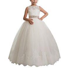 Flower Girls Lace Applique Sleeveless Beading Ball Gowns ... https://www.amazon.com/dp/B06W5P3L98/ref=cm_sw_r_pi_dp_x_riuRyb1W2Z8S4