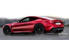 Alfa Romeo: un'idea della futura coupé o di un'ipotetica [RENDERING] Alfa Romeo Gta, Alfa Romeo Spider, Alfa Giulia, Sport Cars, Motor Car, Cars Motorcycles, Luxury Cars, Dream Cars, Classic Cars