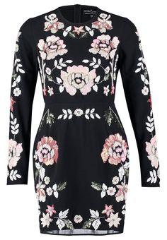 Needle & Thread Cocktailkleid / festliches Kleid - black/pink - Zalando.de
