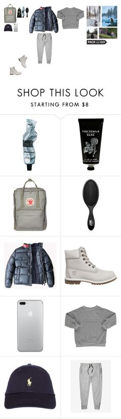"""""""2017 Hike"""" by imiliebabe ❤ liked on Polyvore featuring Aesop, TokyoMilk, Fjällräven, The Wet Brush, Timberland and Popupshop"""