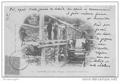 Bonabé.  Núm. [2]3. Bonabé près Salau (Ariège). Construction d'une Scierie  Saint Girons. Imp. A. Rives, lib.-édit.