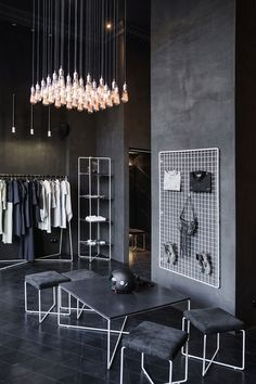 designer volodymyr podolyan takes his operations to a new level with a boutique of his own.