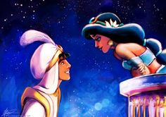 disney illustration: aladdin