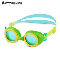Barracuda Junior Swim Goggle WIZARD - One-piece Frame for Children ages 4-8 (#91355)