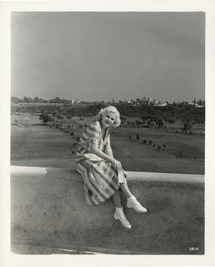 Portrait of Jean Harlow by Clarence Sinclair Bull. Taken at the Riviera Country Club.