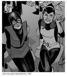 Candid superhero moments by Phil Noto - Imgur