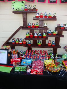 "Photo 1 of 20: Angry Birds / Birthday ""Lizzie & Bella's 8th Birthday Party"" 
