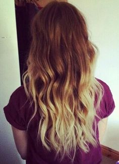 might do this when i get sick of being all-over blonde...