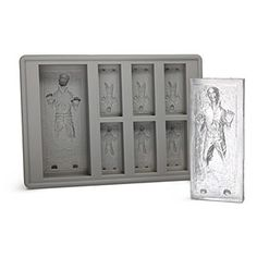 Han Solo in Carbonite Ice Cube Tray