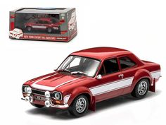 1974 Ford Escort RS 2000 MKI Red 1/43 Diecast Car Model by Greenlight - Brand new box. Limited Edition. Detailed interior, exterior. Comes in plastic display showcase. Dimensions approximately L-5 inches long.-Weight: 1. Height: 5. Width: 9. Box Weight: 1. Box Width: 9. Box Height: 5. Box Depth: 5