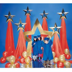 Super Star Pathway and Balloons Kit