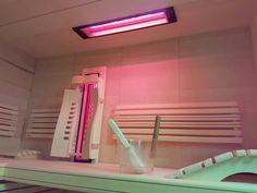 Infrarotstrahler für die Sauna oder zum Selberbauen einer Infrarotkabine. Der Infrarotstrahler von Gurtner Wellness ist IPX4, daher kann wie gewohnt auch ein Aufguß gemacht werden. Der Deckenstrahler ist auch in einer Liegekabine sehr empfehlenswert. Strahler und Infos www.gurtner-infrarot.at Stairs, Wellness, Home Decor, Steam Room, Infrared Heater, Stairway, Staircases, Interior Design, Ladders