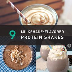 Enjoy everything from Butterfingers to pumpkin pie with these milkshake-inspired smoothies. You may even find yourself ditching decadent desserts for good! (Not that you can't have both!)