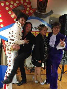Great fun with the Las Vegas show...ask us about the show and how to book us for your next function...