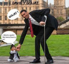 CHISTES +MEMES: David y Goliat
