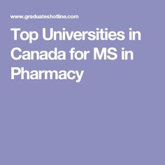 Pharmacy good colleges for english major