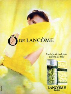 Lancôme 'O de Lancôme', 1988