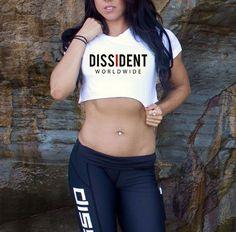 Dissident Worldwide - Crop Tee