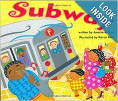 Come along for the ride as a little girl and her mother hop on the subway.  From spinning turnstiles and musicians performing on the platforms to people hopping off and on and lights flashing past in the tunnels, the sights and sounds of the subway have an energy all their own.  Anastasia Suen's sprightly text and Karen Katz's brightly colored patterns and lively perspectives combine for a pitch perfect celebration of an underground train ride, where the hustle and bustle is only part of the…