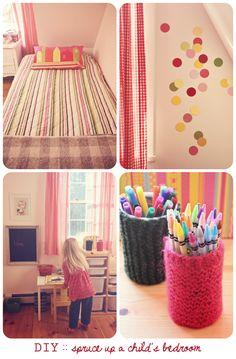Creative DIY Kids' Room Decorating Ideas - Susan Tuttle Photography
