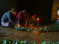 La Compagnie Qui-Va-Nu-Pieds: Ateliers avec les enfants au rythme des saisons