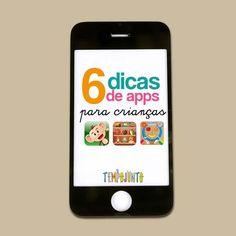 Primeira coluna da Pedagoga e Psicopedagoga Michelle Costa Soares com dicas de aplicativos para crianças.