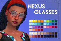 Simsworkshop: Nexus Glasses by Weepingsimmer
