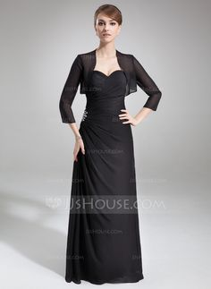 Mother of the Bride Dresses - $142.99 - A-Line/Princess Sweetheart Floor-Length Chiffon Mother of the Bride Dress With Ruffle Beading (008006492) http://jjshouse.com/A-Line-Princess-Sweetheart-Floor-Length-Chiffon-Mother-Of-The-Bride-Dress-With-Ruffle-Beading-008006492-g6492
