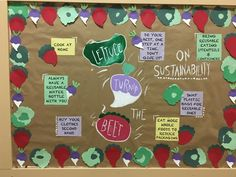 Sustainability Bulletin Board #RA Interactive Bulletin Boards, Ra Bulletin Boards, Ra Passive Programs, Ra Bulletins, Ra Boards, Residence Life, Resident Assistant, Res Life, Community Service