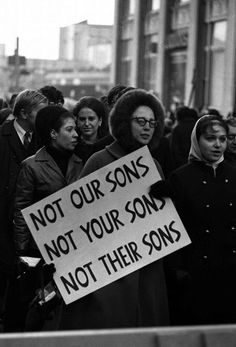 Vietnam War.  Not Our Sons. Not Your Sons. Not Their Sons. Or daughters.  Tim Page