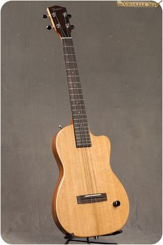 Have you been curious about solidbody ukes? Here's one take on a Pono Baritone ukulele.