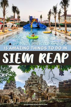 Planning a trip to Cambodia? Discover the 12 amazing things to do in Siem Reap, Cambodia including how to get there, where to stay, archeological sites like Angkor Wat, museums in Siem Reap, cafes, and more! I what to do in Siem Reap I places to go in Cambodia I Cambodia travel I things to do in Cambodia I places to visit in Cambodia I Cambodia attractions I what to do in Cambodia I Siem Reap travel tips I what to eat in Cambodia I Cambodia tips I where to eat in Siem Reap I #Cambodia #SiemReap Backpacking South America, Backpacking Asia, Bus Travel, Asia Travel, Cambodia Travel, Travel Guides, Travel Tips, Siem Reap, Travel Activities
