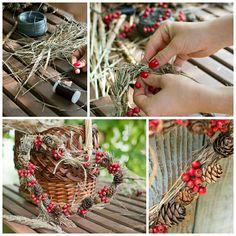 Autumn heart wreath Heart Wreath, Fall Decor, Charmed, Wreaths, Autumn, Jewelry, Jewlery, Bijoux, Fall