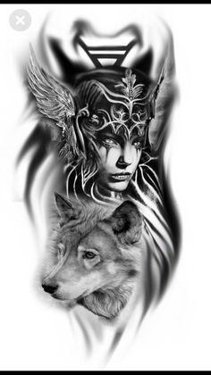 I just love the valkyrie here …. next ta … – # here # I # love # … – Norse Mythology-Vikings-Tattoo Wolf Tattoos, Warrior Tattoos, Maori Tattoos, Music Tattoos, Body Art Tattoos, Sleeve Tattoos, Athena Tattoo, Rabe Tattoo, Tattoo Minimaliste