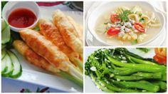 Hãy để bữa cơm ngày lạnh của gia đình bạn hấp dẫn vô cùng với thực đơn có chả tôm bọc sả nướng và canh hến nấu khế nhé!