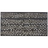 Tribal Universe Canvas 204x102cm Grey - Freedom Furniture