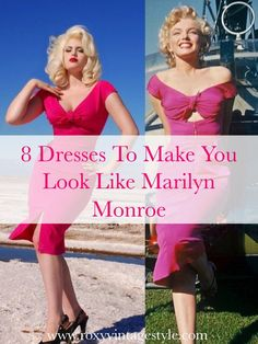 8 Dresses To Make You Look Like Marilyn Monroe - Roxy Vintage Style - Roxy Vint. - 8 Dresses To Make You Look Like Marilyn Monroe – Roxy Vintage Style – Roxy Vintage Style Maril - Marylin Monroe Costume, Marylin Monroe Style, Marilyn Monroe Wedding, Marilyn Monroe Outfits, Marilyn Monroe Halloween Costume, Marilyn Monroe Body, Vintage Style Outfits, Vintage Fashion, Hollywood Costume